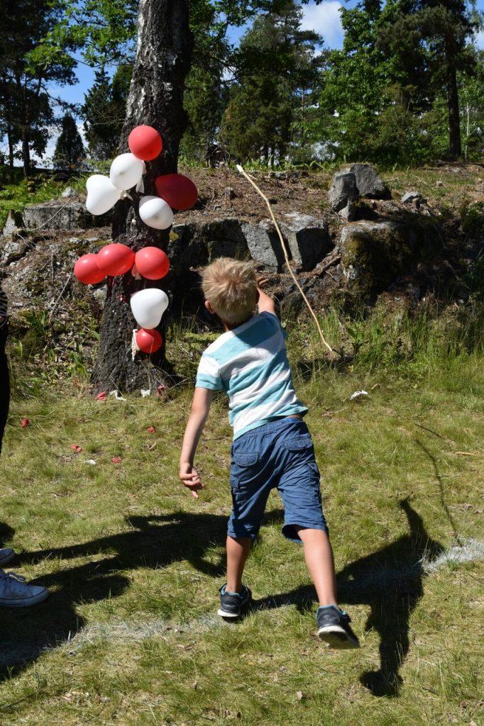 Ballonglek på Risøya