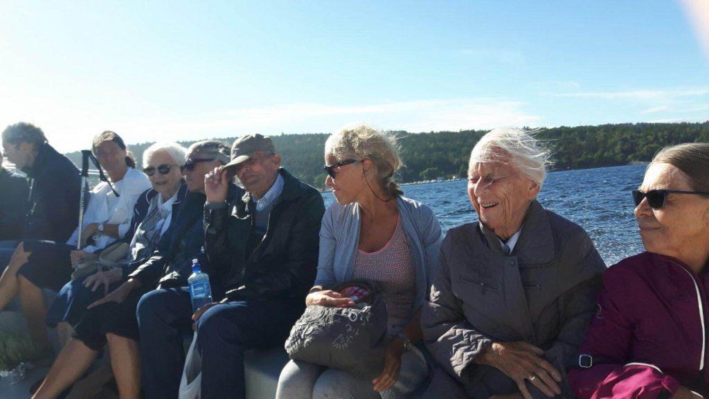Seniortur til Risøya